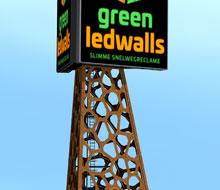 GreenLEDwalls